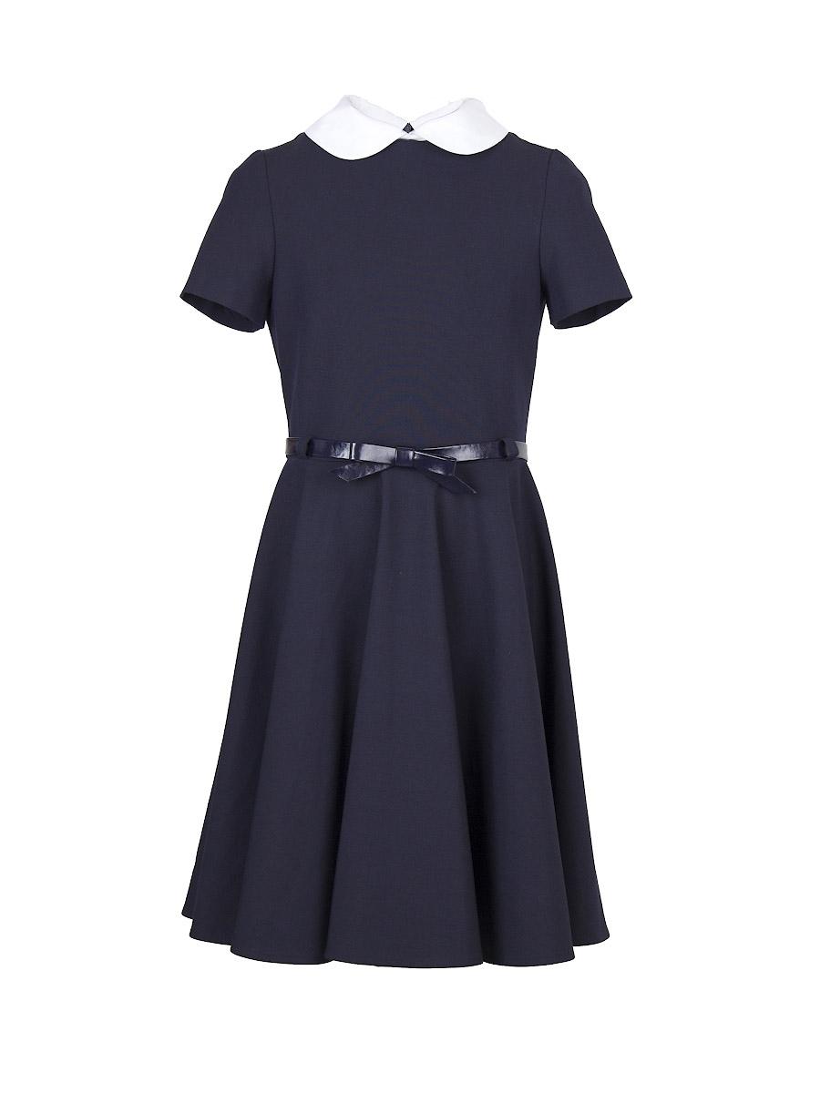 Форма для девочек Смена Платье Смена синее смена смена платье для школы синее