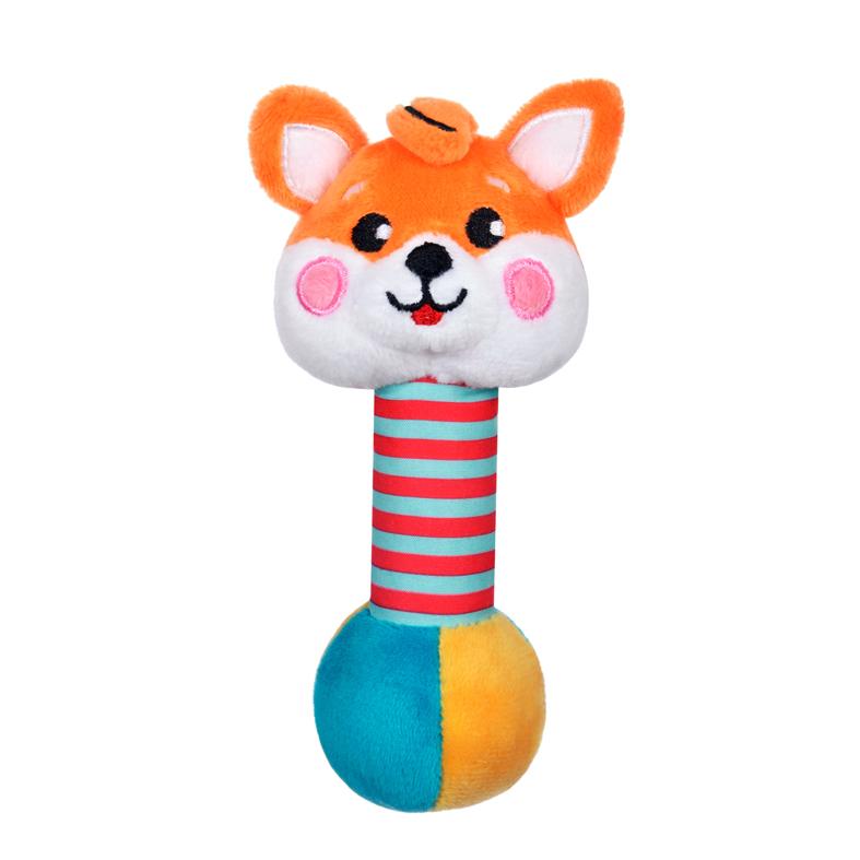 Погремушки Жирафики Лисенок со звуком подвесные игрушки roxy тигренок гигл со звуком
