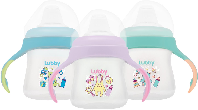 Поильники для малышей LUBBY Поильник с носиком Lubby