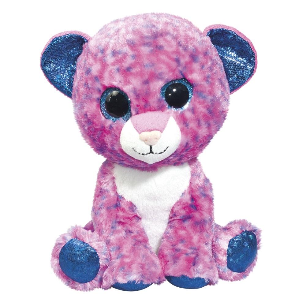 Мягкие игрушки Fancy Глазастик Леопард kogankids kogankids платье леопард розовое