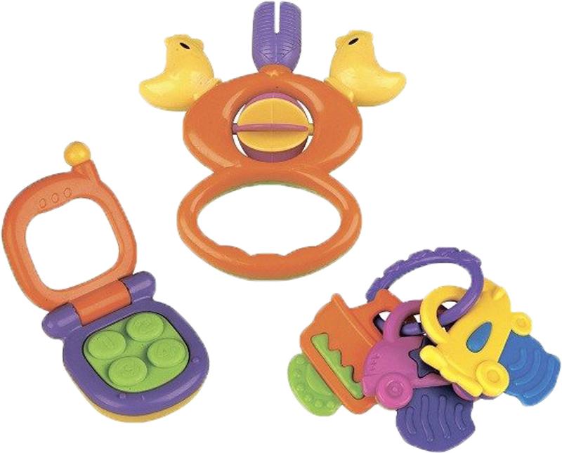 Набор погремушек Mioshi Первая игрушка с телефоном игровой набор mioshi army стража автомат м71