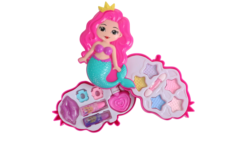 Набор детской декоративной косметики Beauty Angel Русалочка, двухслойный набор набор детской косметики nomi beauty box 5