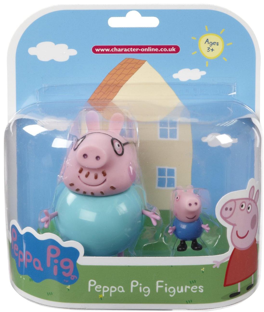 Peppa Pig Peppa Pig Семья Пеппы майка борцовка print bar семья свинки пеппы