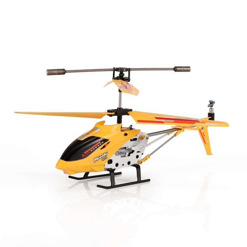 Вертолет на инфракрасном управлении Mioshi «X22 желтый» самолеты и вертолеты mioshi вертолёт на инфракрасном управлении mioshi ir 225 25 см