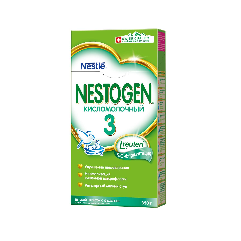 Смесь Nestogen Кисломолочный 3 с 12 мес. 350 г смесь компотная с шиповником 350 г