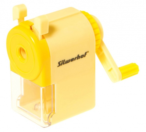 Точилка механическая Silwerhof Пластилиновая коллекция канцелярия silwerhof пластилиновая коллекция с контейнером