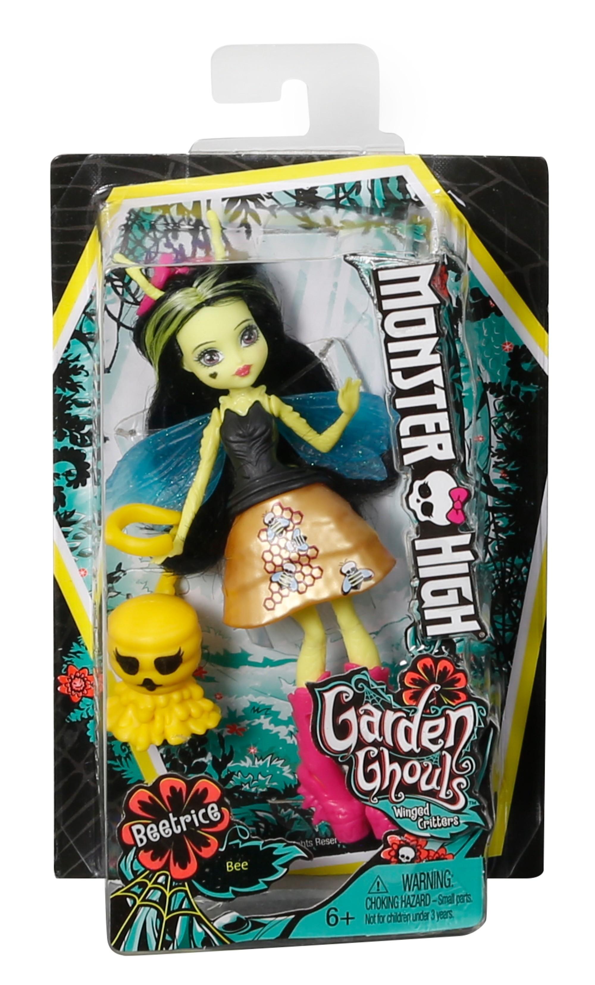 Кукла Mattel Цветочные мини-монстрики с питомцами