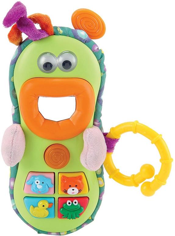 Купить Развивающие игрушки, Веселый телефон, Happy baby, Китай, green