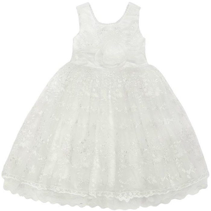 Новогодняя коллекция Barkito Платье детское для эпизодического использования Barkito Праздничное, белое платье lussotico lussotico mp002xw13lz5