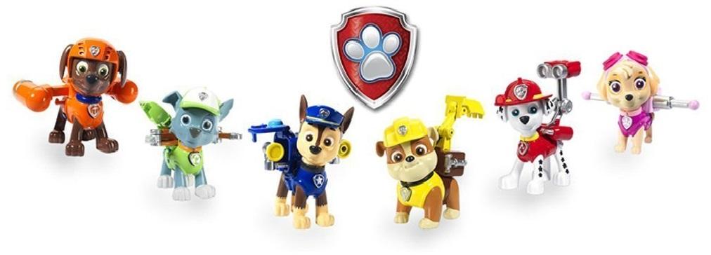 Игровой набор Paw Patrol Щенок с рюкзаком-трансформером игровой набор paw patrol спасатель с рюкзаком трансформером новые герои в ассортименте
