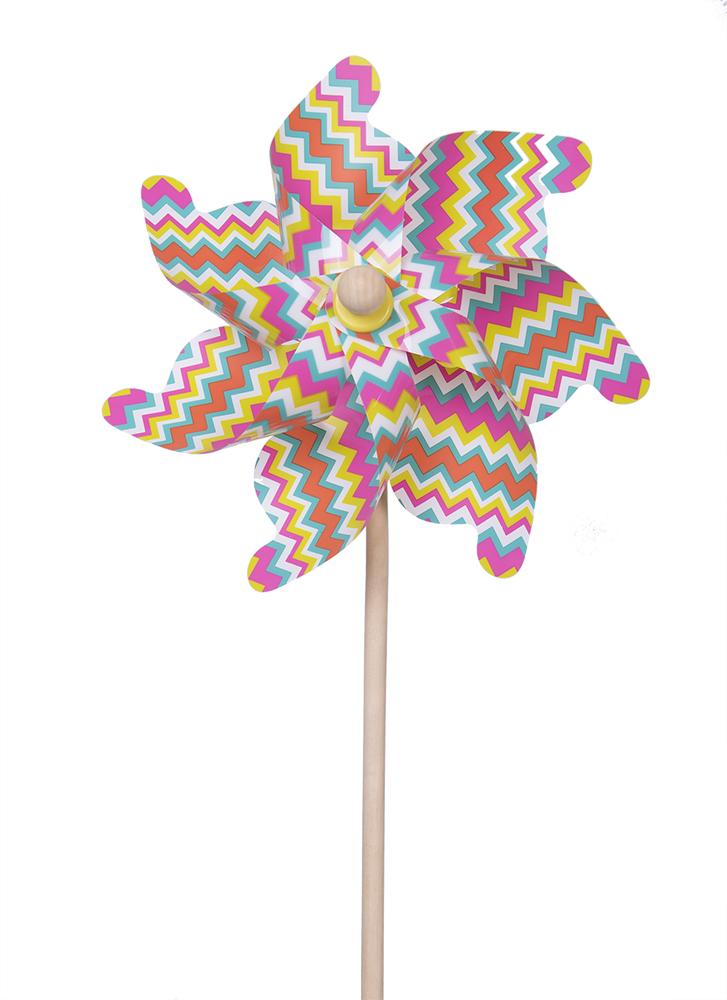Ветрячок ЯиГрушка «Цветные линии» 75 см ветрячок fresh trend цветные линии 75 см
