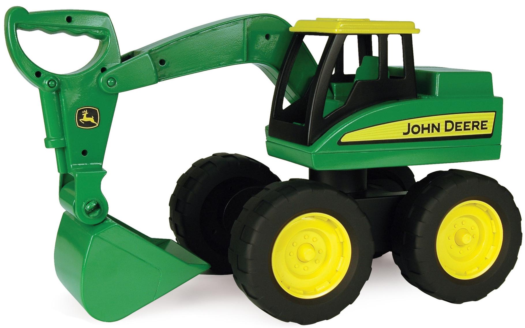 Строительная техника Tomy Большегрузный экскаватор Tomy John Deere tomy трактор john deere 6830