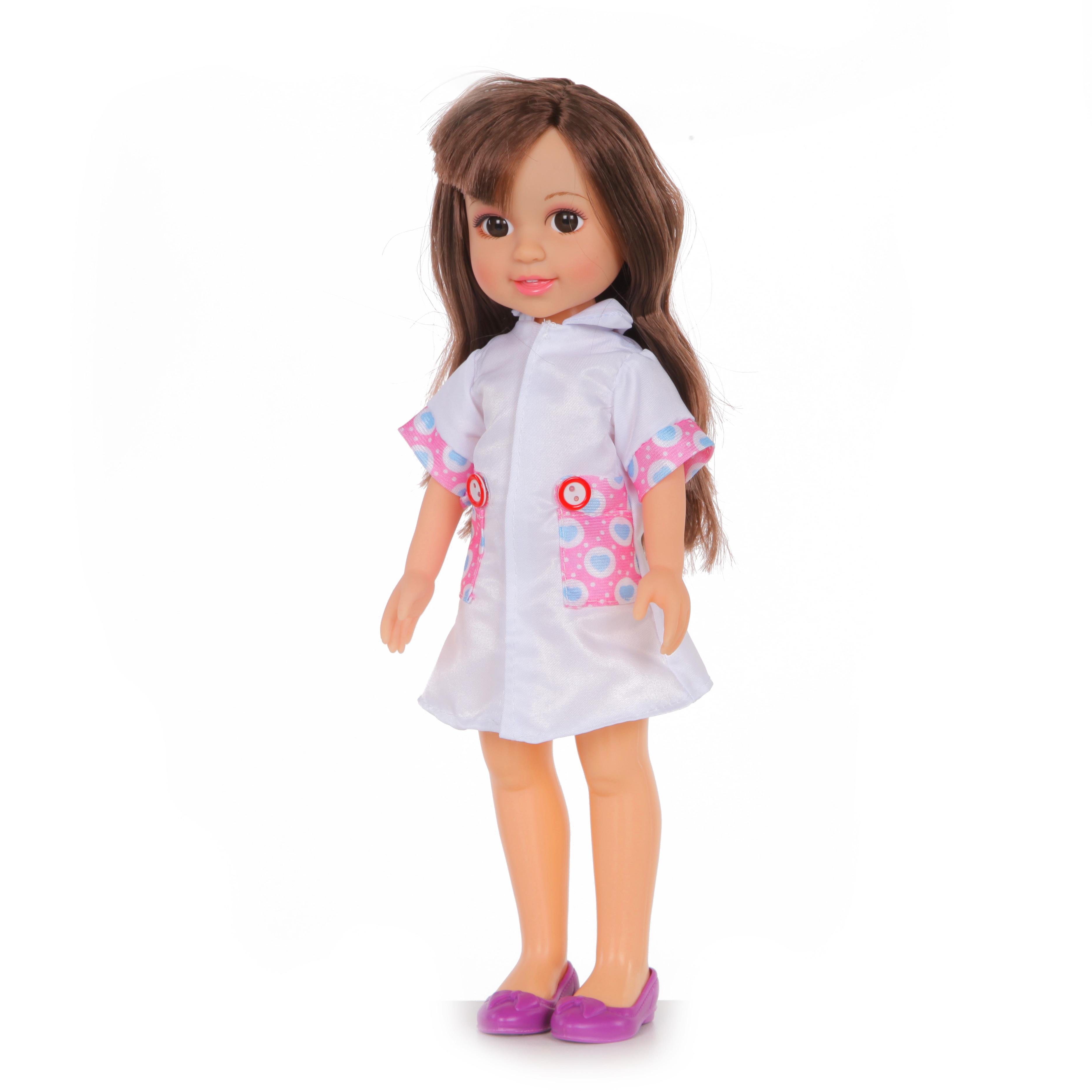 Другие куклы YAKO Кукла Yako Jammy «Доктор» 32 см кукла yako катенька m6620