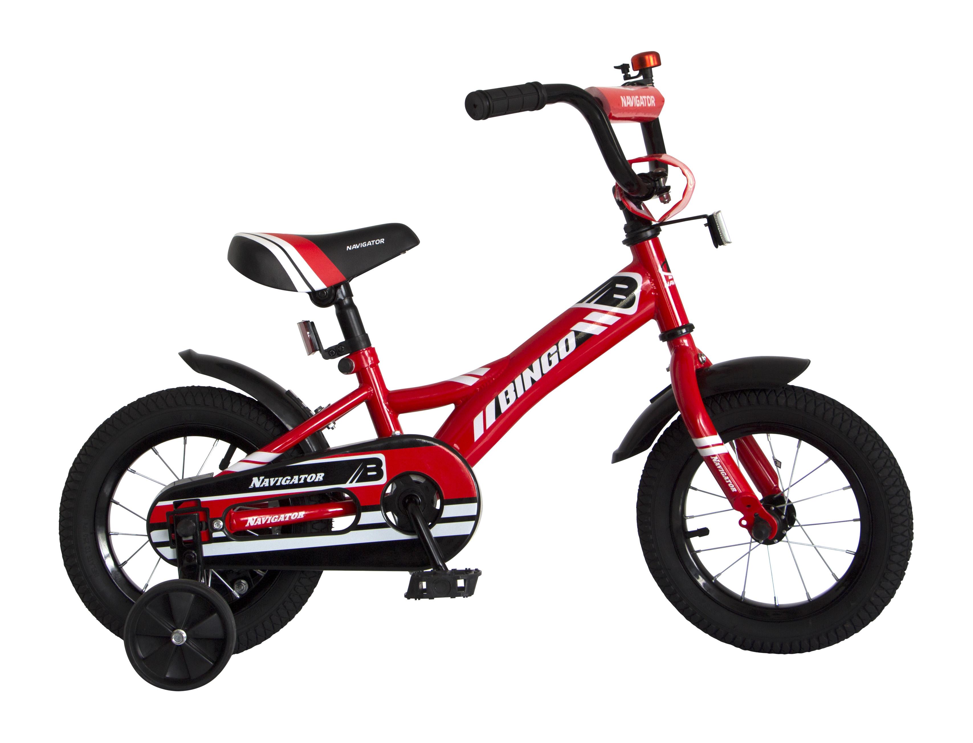 Велосипед двухколесный Navigator Bingo красный
