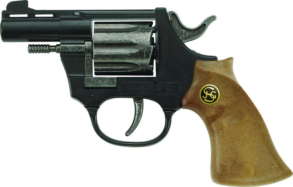 Игрушечное оружие Schrodel Супер 8 14.5 см игровые наборы профессия schrodel супер 8 14 5 см