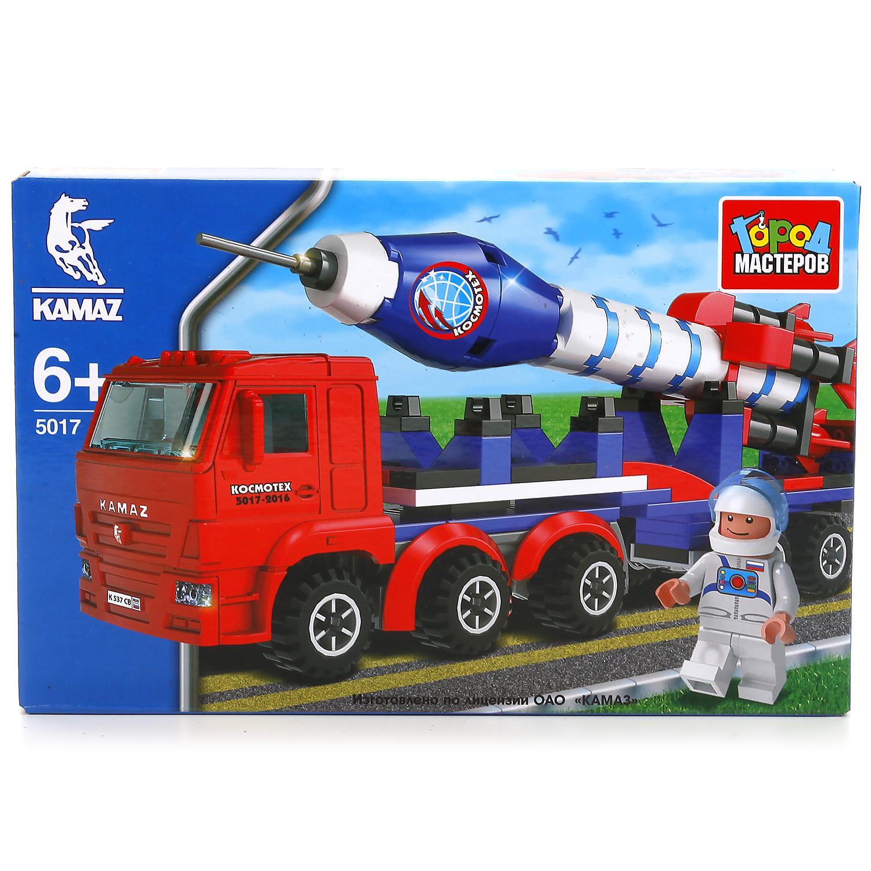 цена Конструктор Город мастеров Камаз-перевозчик с ракетами онлайн в 2017 году