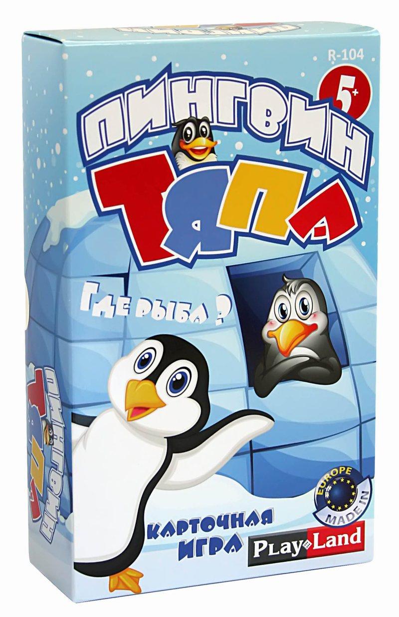 Развивающие и обучающие Play Land Пингвин Тяпа