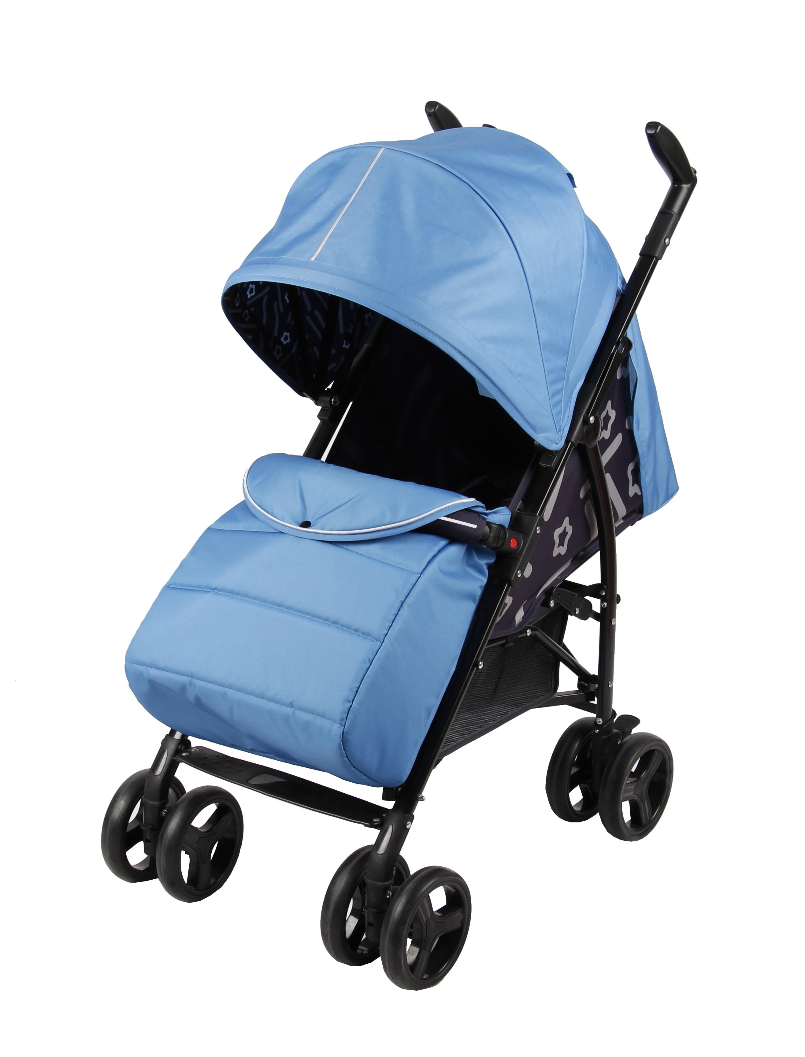 Прогулочная коляска Parusok Walker Pro синий