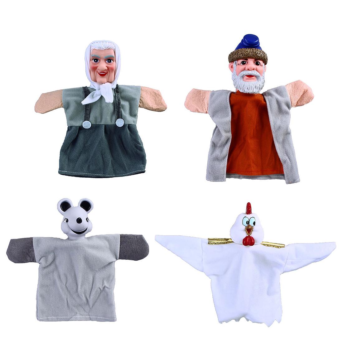Кукольный театр Наша игрушка Курочка Ряба кукольный театр бэмби курочка ряба 8 предметов к 0543 6