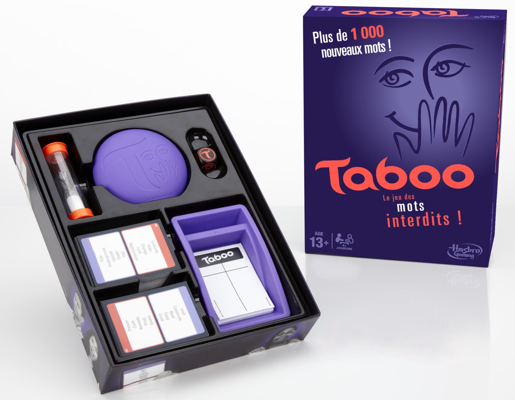 Игра Hasbro Табу игрушка hasbro games игра для взрослых полночное табу
