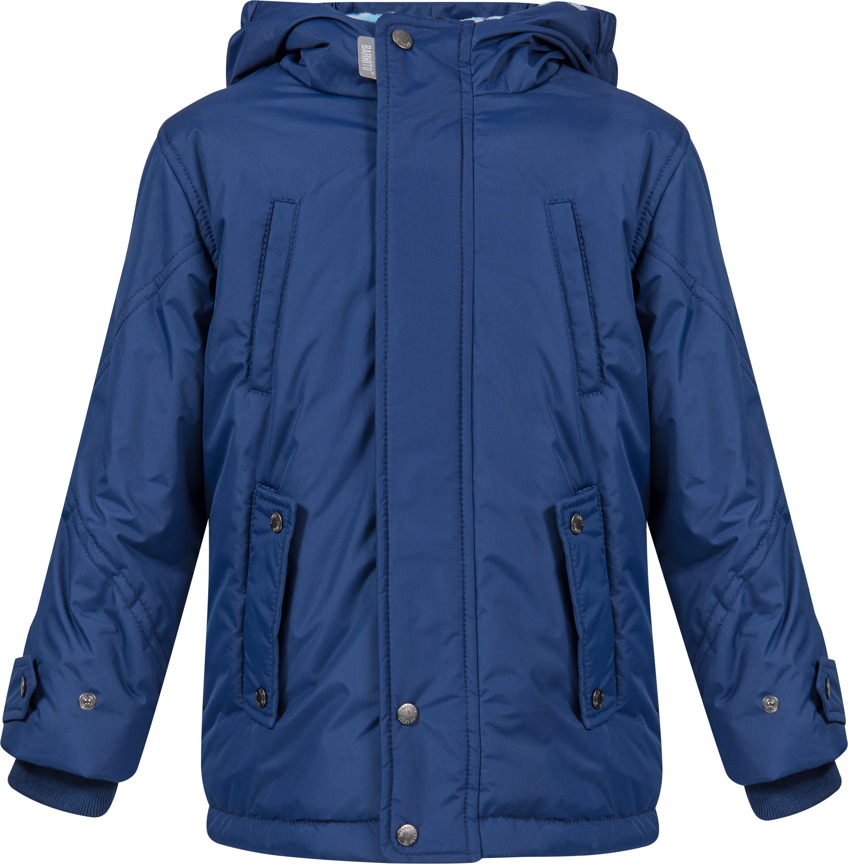 Купить Куртки, Куртка для мальчика Barkito, темно-синяя, Китай, темно-синий, Мужской