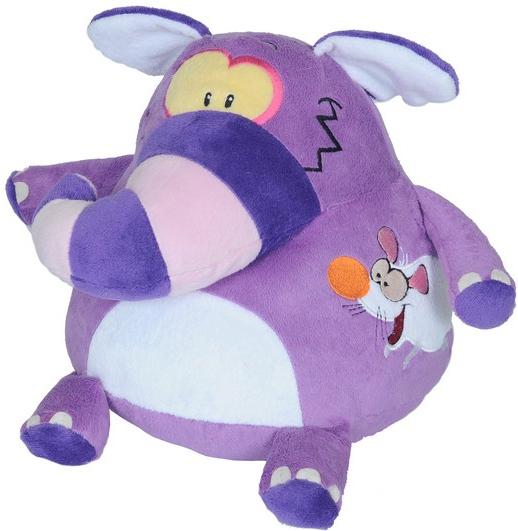 Мягкие игрушки СмолТойс Слон-шарик классические смолтойс заяц шарик