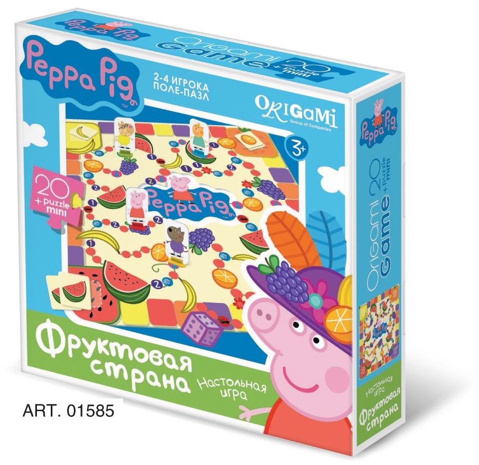 Peppa Pig Peppa Pig Фруктовая страна настольная игра origami peppa pig считалочка в чемоданчике