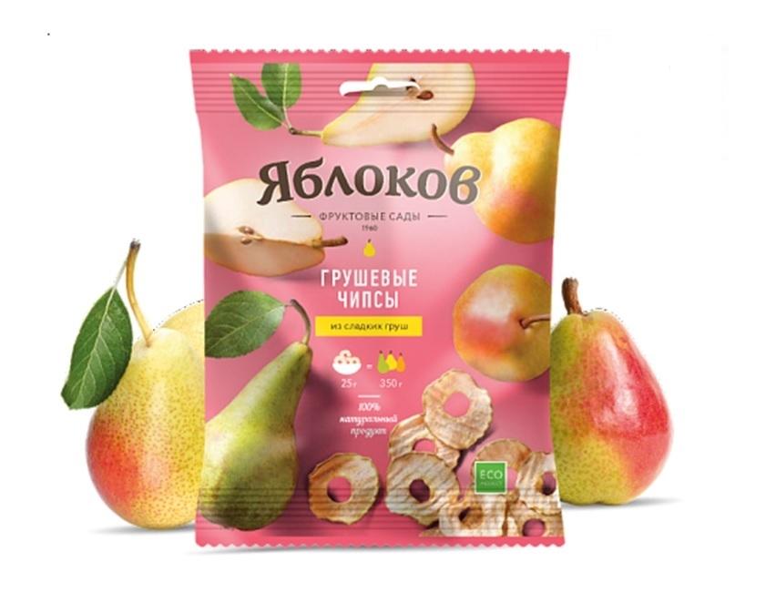 Фруктовые чипсы Яблоков Яблоков из груши 25 г