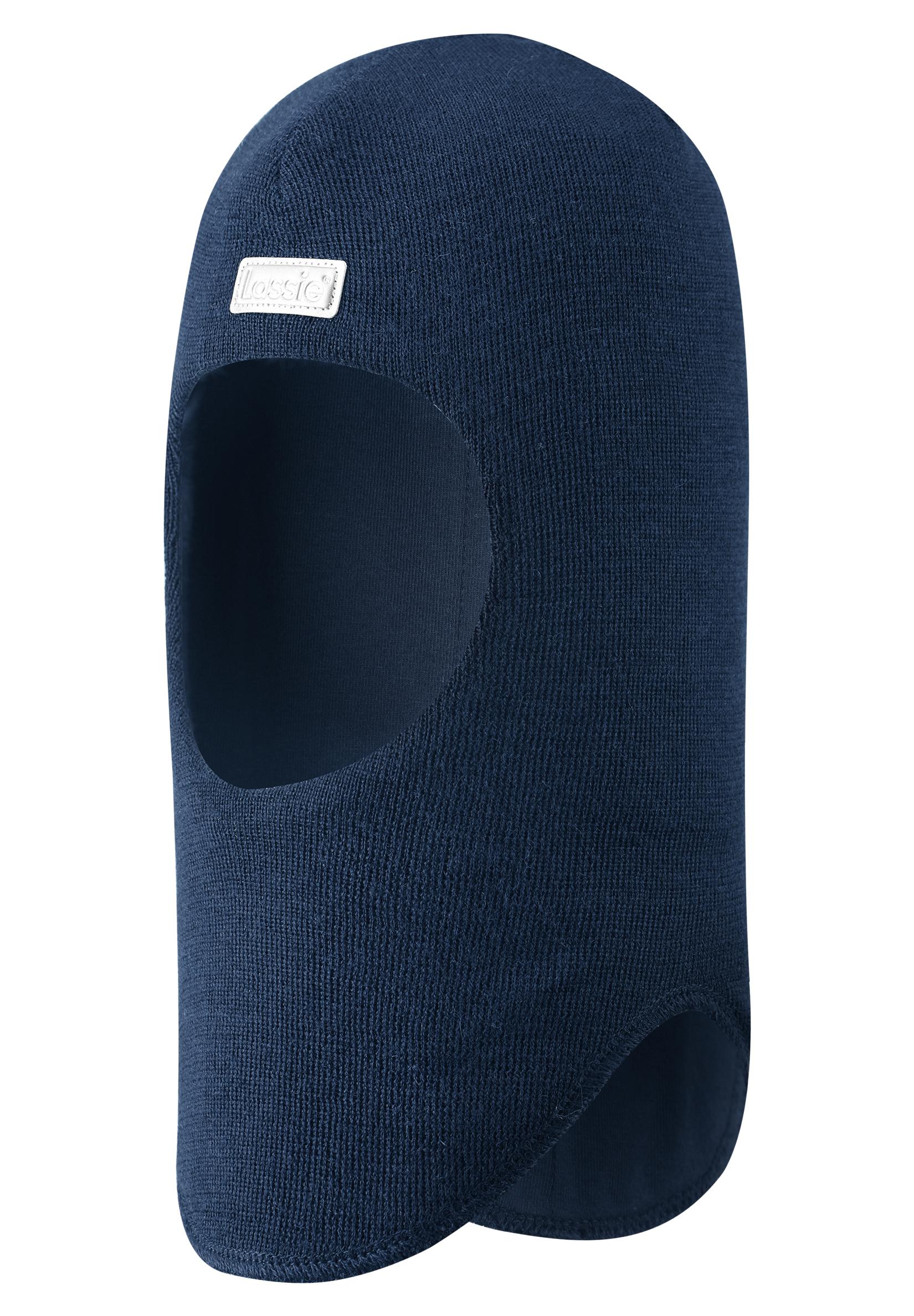 Головные уборы Lassie Шапка-шлем Lassie, синяя skiki skiki шапка шлем зимняя синяя