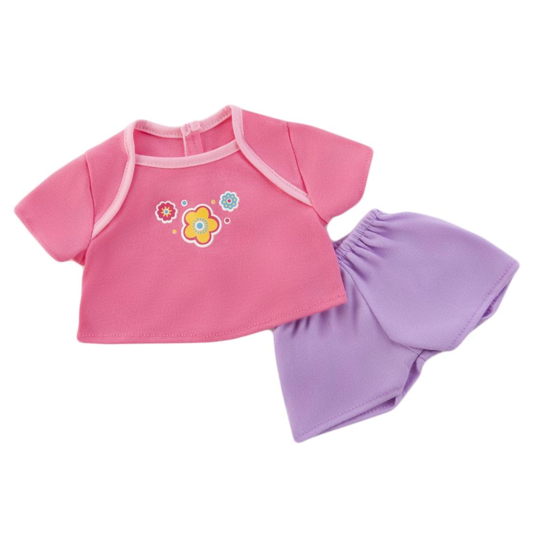 Одежда для кукол Mary Poppins Футболочка и штанишки для куклы Mary Poppins игрушечная бытовая техника mary poppins умный дом