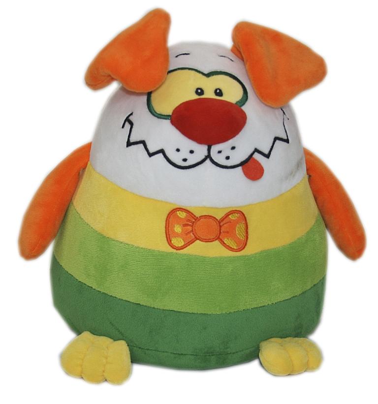 Мягкие игрушки СмолТойс Щенок шарик классические смолтойс заяц шарик