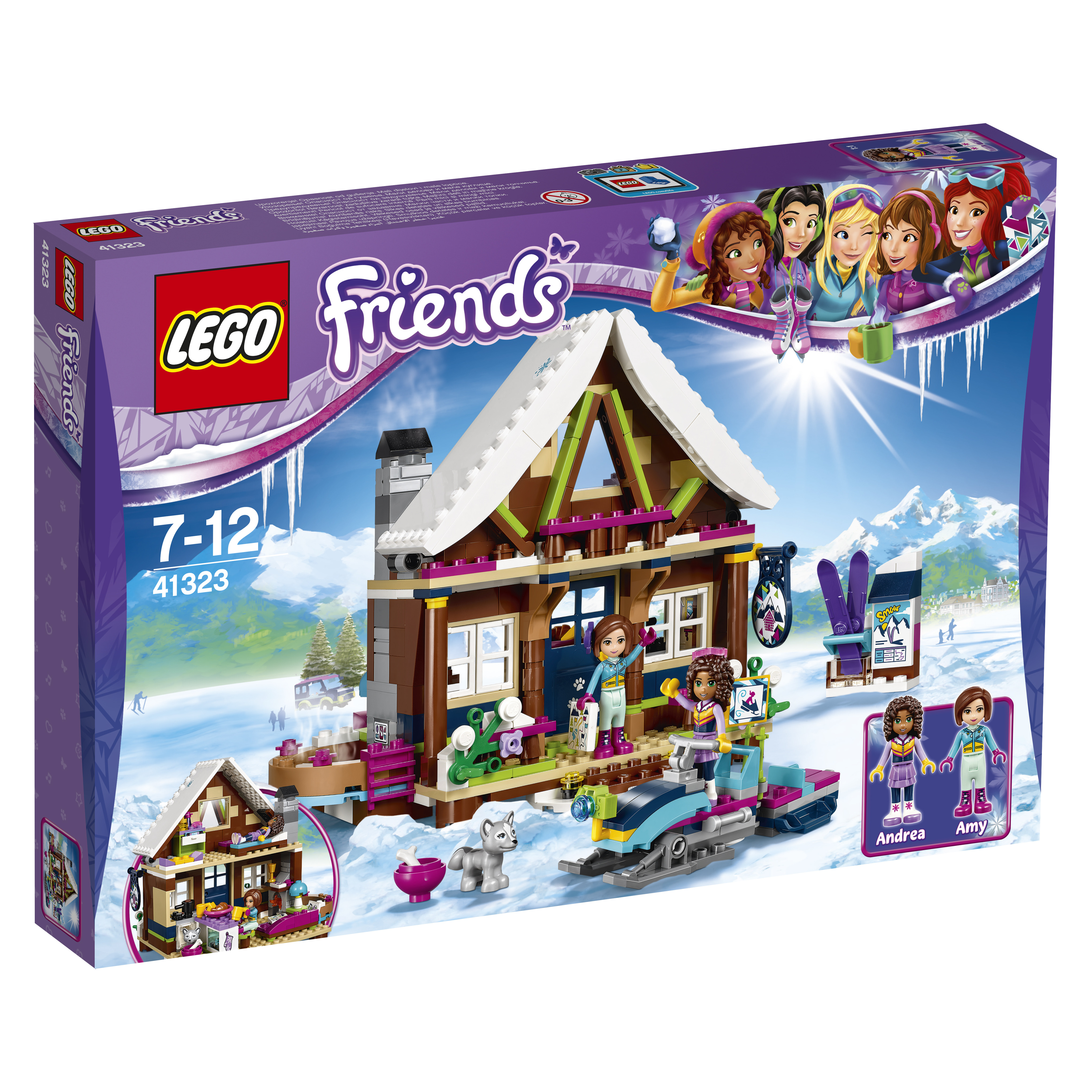 LEGO LEGO Горнолыжный курорт: шале шале