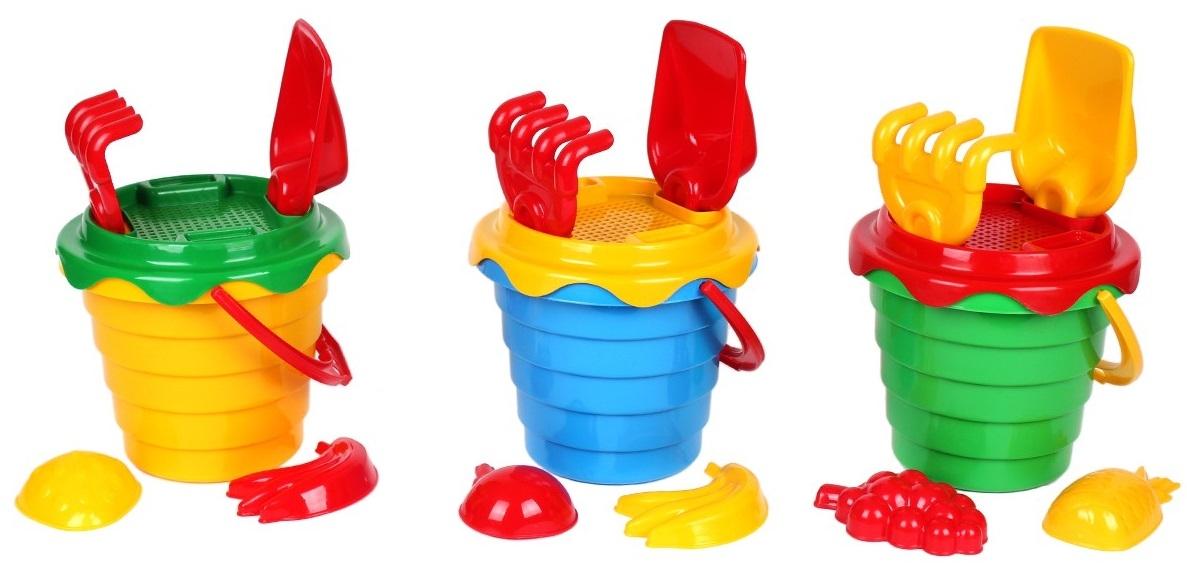 Игрушки для песка TEHNOK С песком в ассортименте набор для игры с песком полесье n262