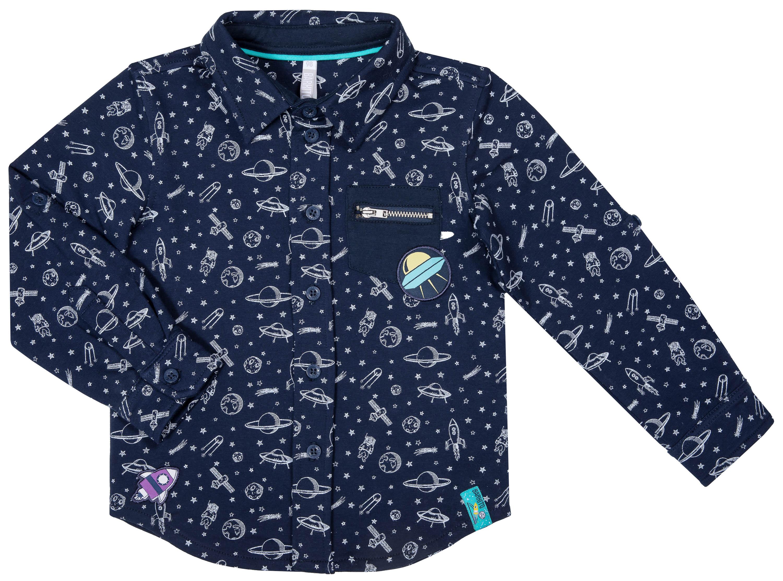 Сорочка Barkito для мальчика «Путешествие в космос» толстовки barkito путешествие в космос 1