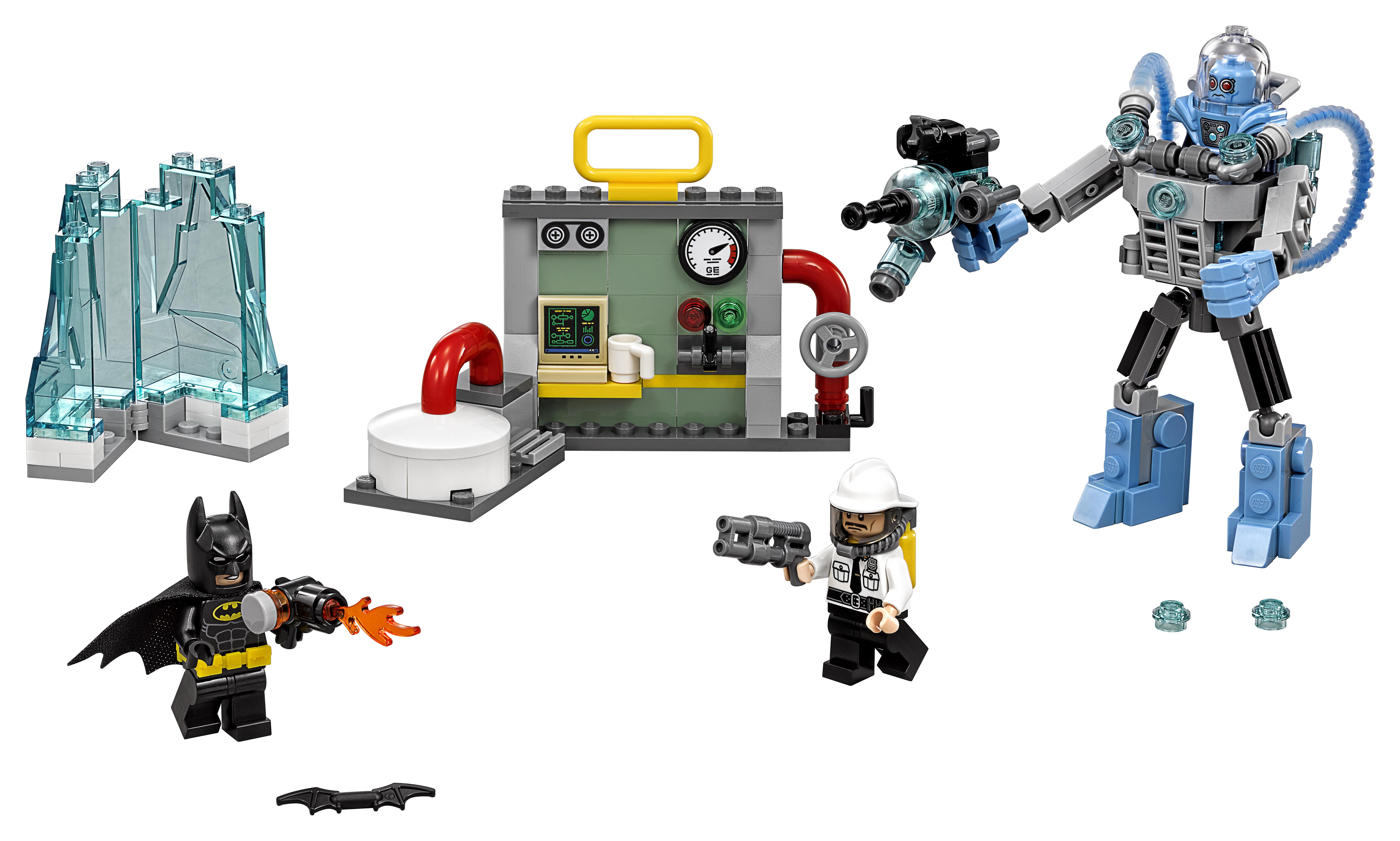 Конструктор LEGO Batman Movie 70901 Ледяная aтака Мистера Фриза lepin new 460pcs 07051 batman movie series the killer crocodile tail gator 70907 building blocks bricks educational toys