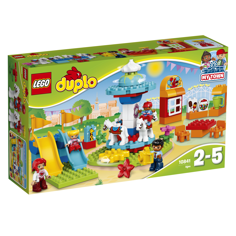 LEGO DUPLO LEGO Семейный парк аттракционов