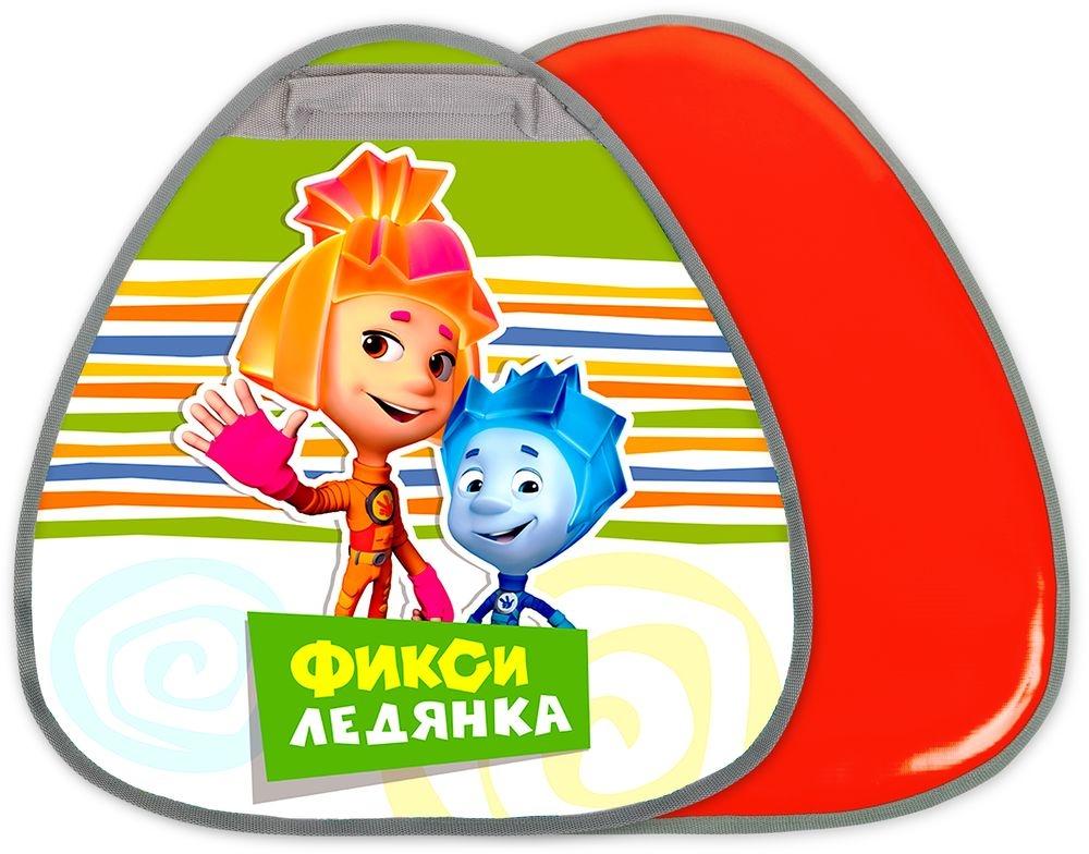 цена Ледянки Nika Фиксики зеленая треугольная.
