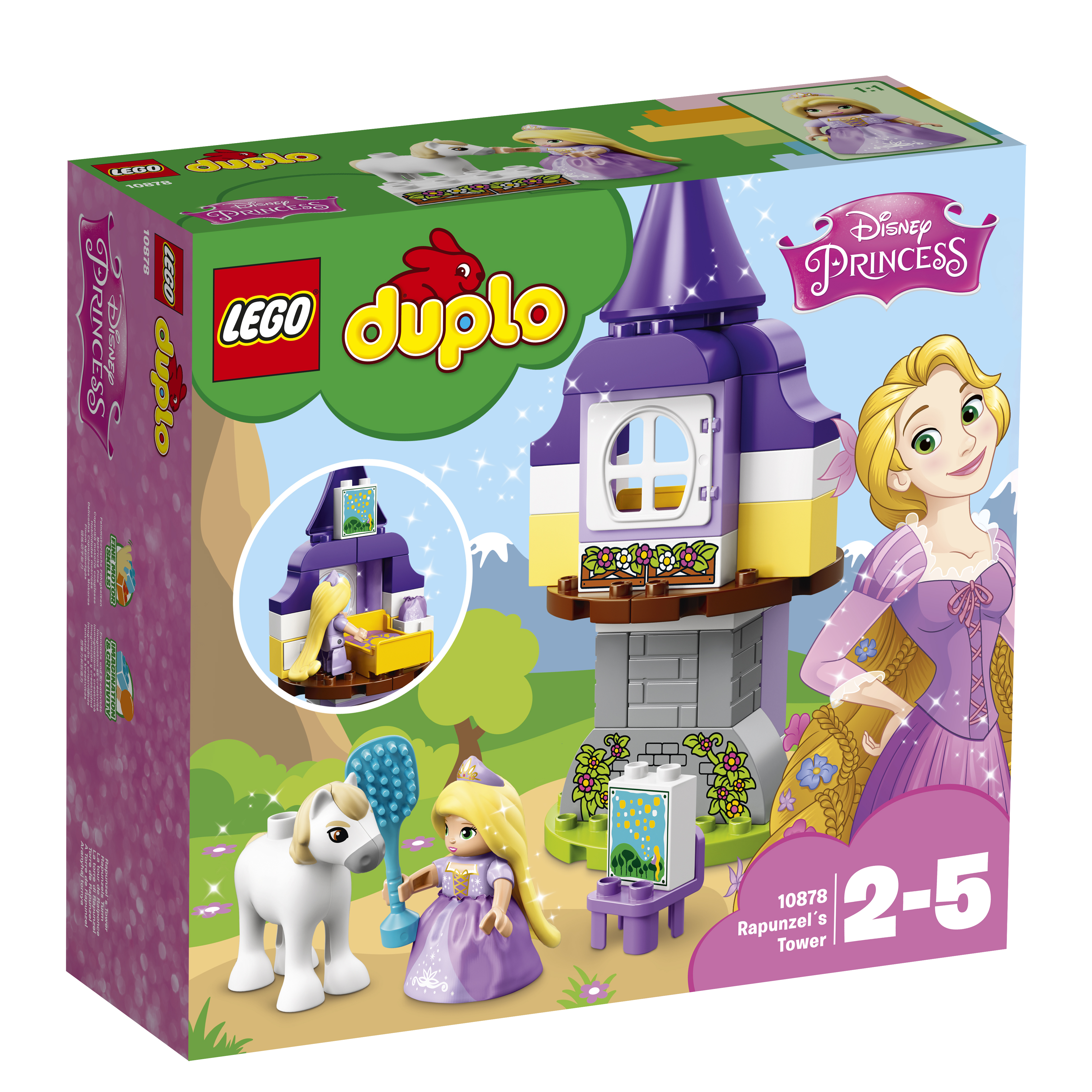 LEGO DUPLO LEGO DUPLO Princess 10878 Башня Рапунцель