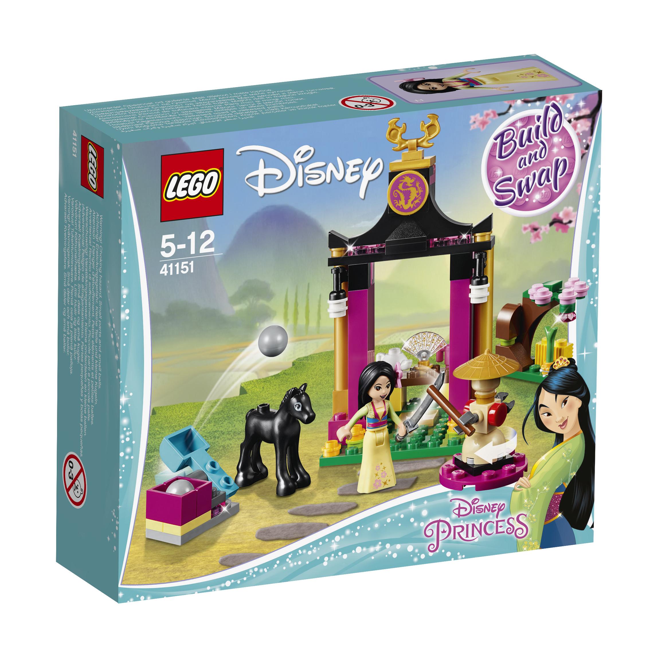 LEGO LEGO Конструктор LEGO Disney Princess 41151 Учебный день Мулан конструктор lego disney princess королевские питомцы жемчужинка 41069