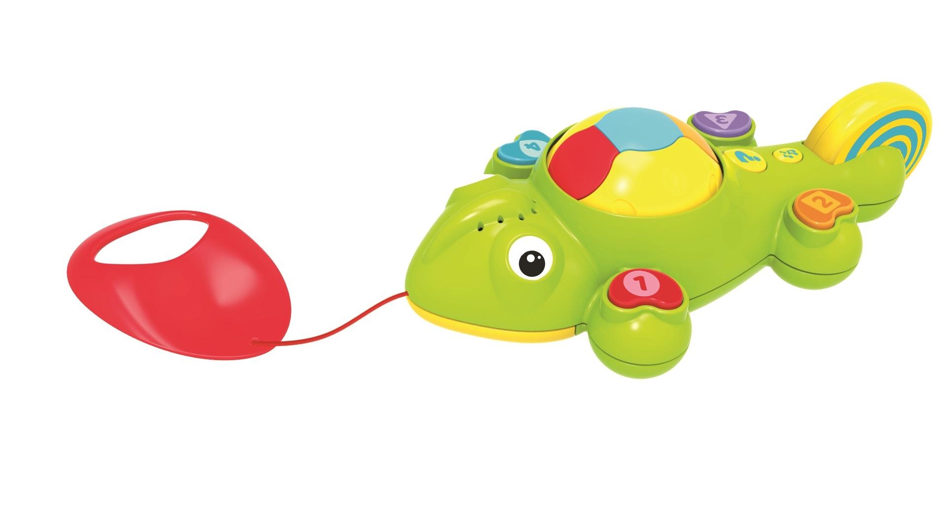 Развивающие игрушки, Интерактивный хамелеон, Kidz Delight, Китай, Мультиколор  - купить со скидкой