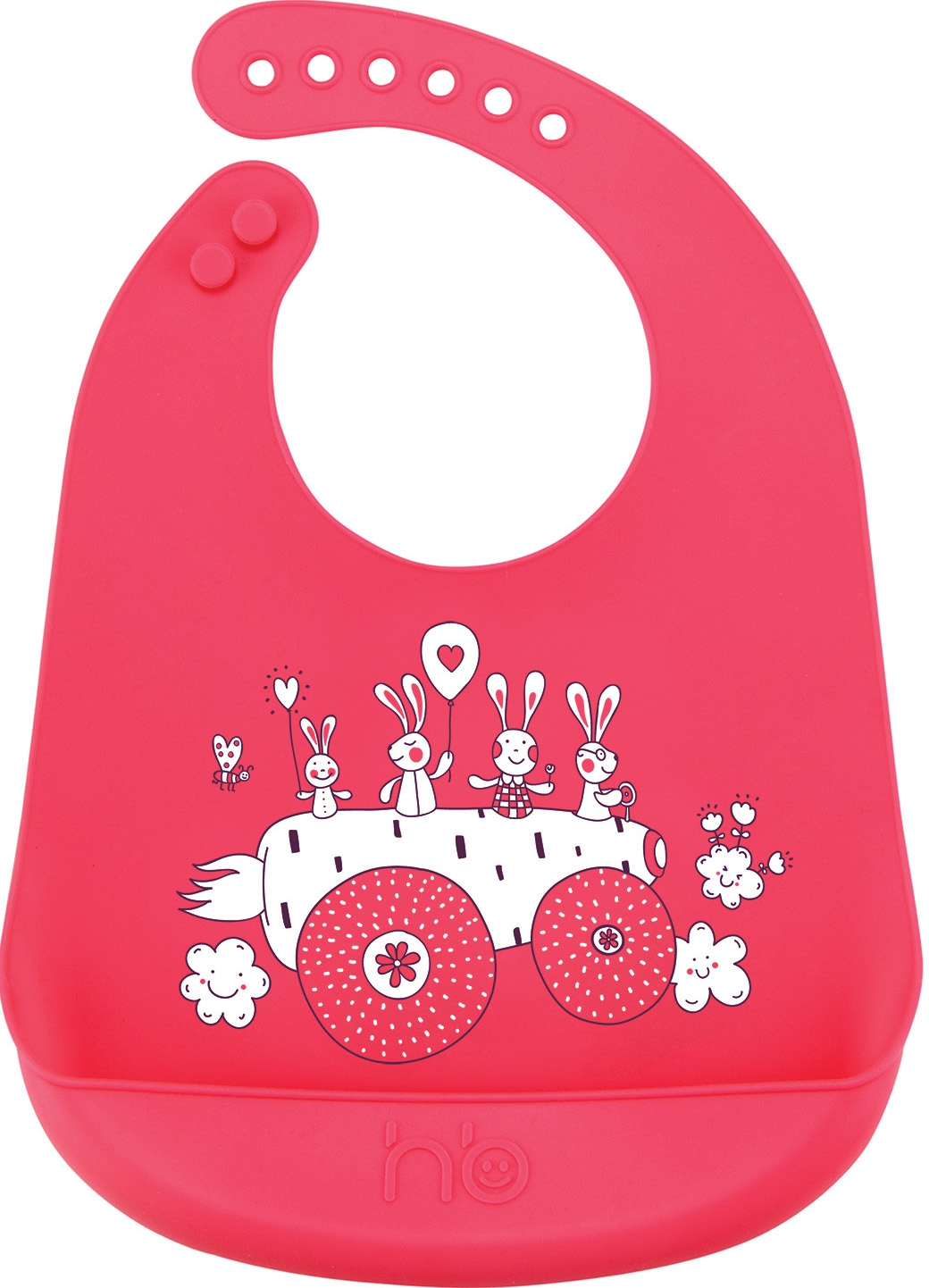 Нагрудник Happy baby Bib pocket make my day нагрудник baby bib peter pan collar