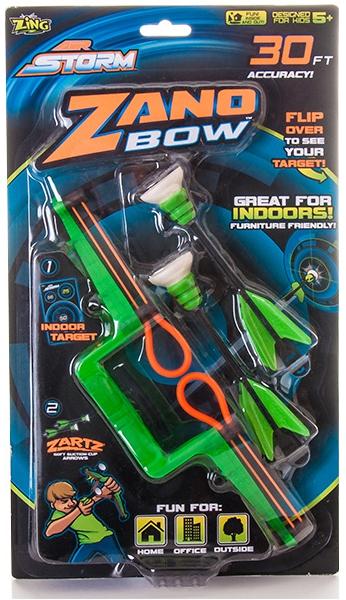 Мини-лук Zing с двумя стрелами на присосках мини лук zing с двумя стрелами на присосках as911