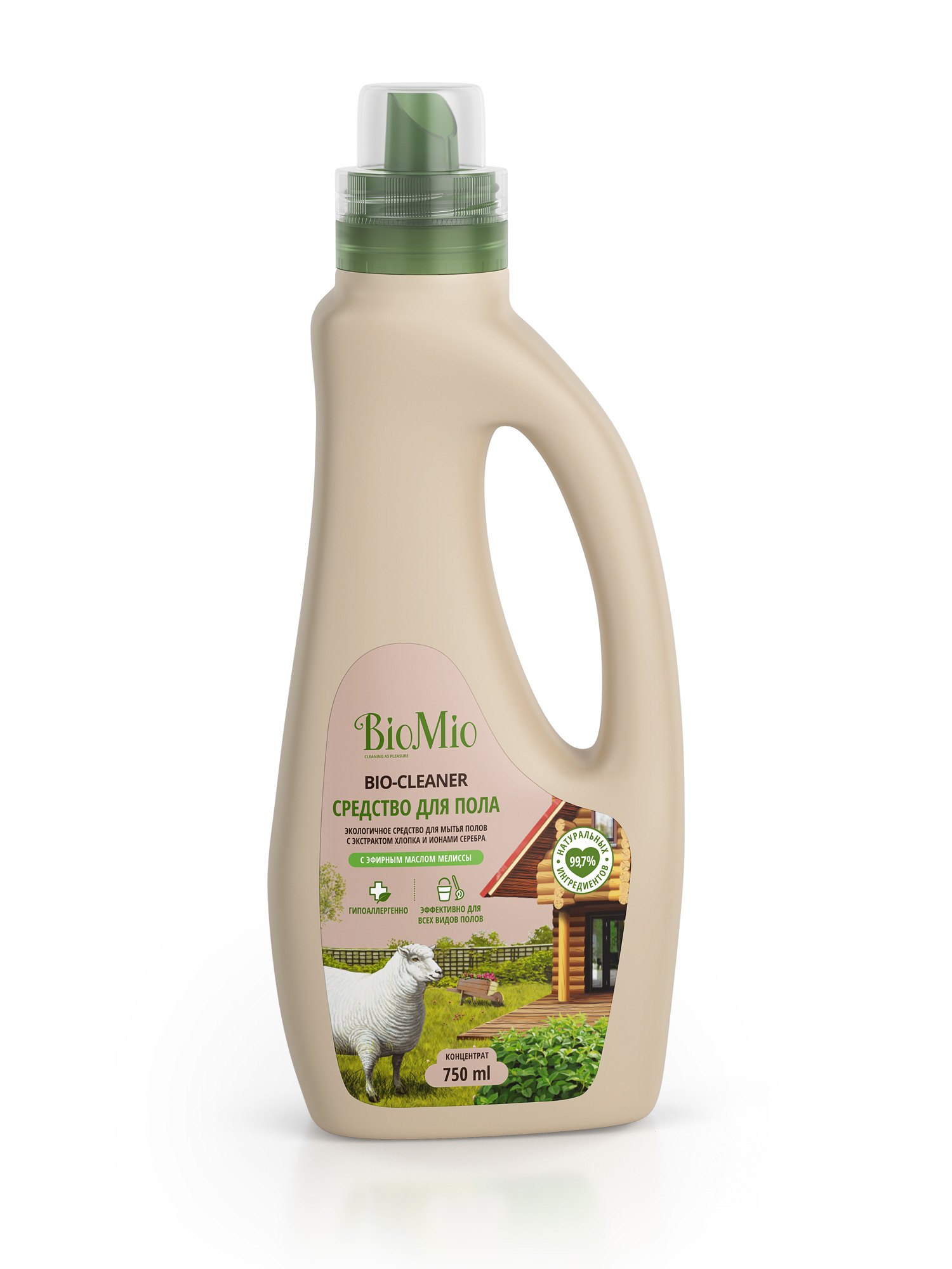 Средства для чистки поверхностей BIO MIO Bio-Floor Cleaner. Мелисса biomio bio sensitive экологичное средство для стирки деликатных тканей без запаха 1 5 л
