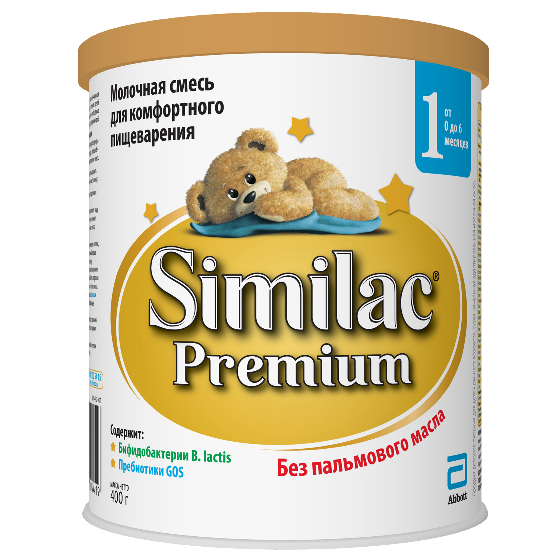 Сухие Similac Similac (Abbott) Premium 1 (от 0 до 6 месяцев) 400 г стоимость