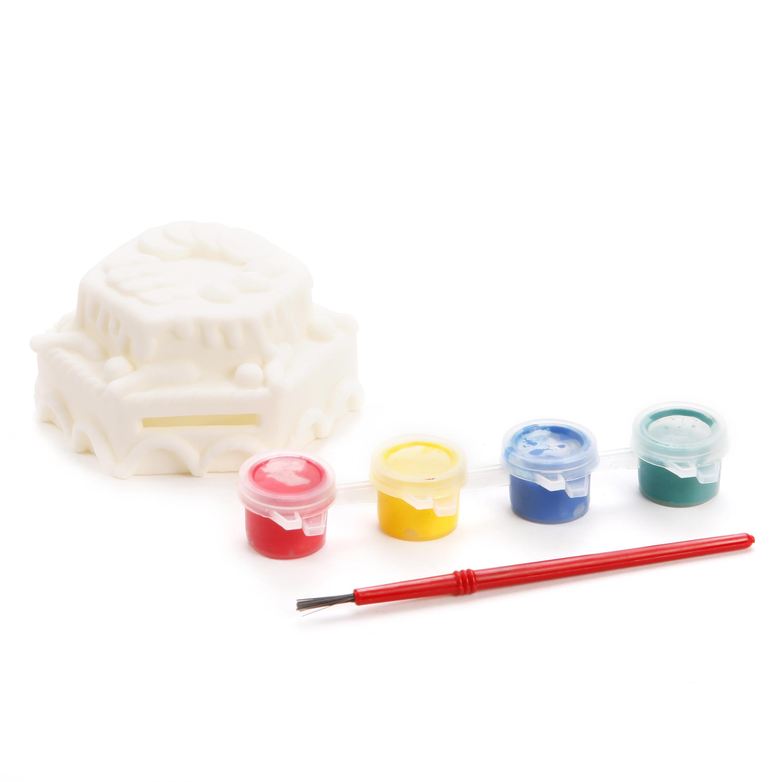 Наборы для творчества Color Puppy Роспись копилки. Пирожное наборы для творчества color puppy набор для творчества гравюра цветная