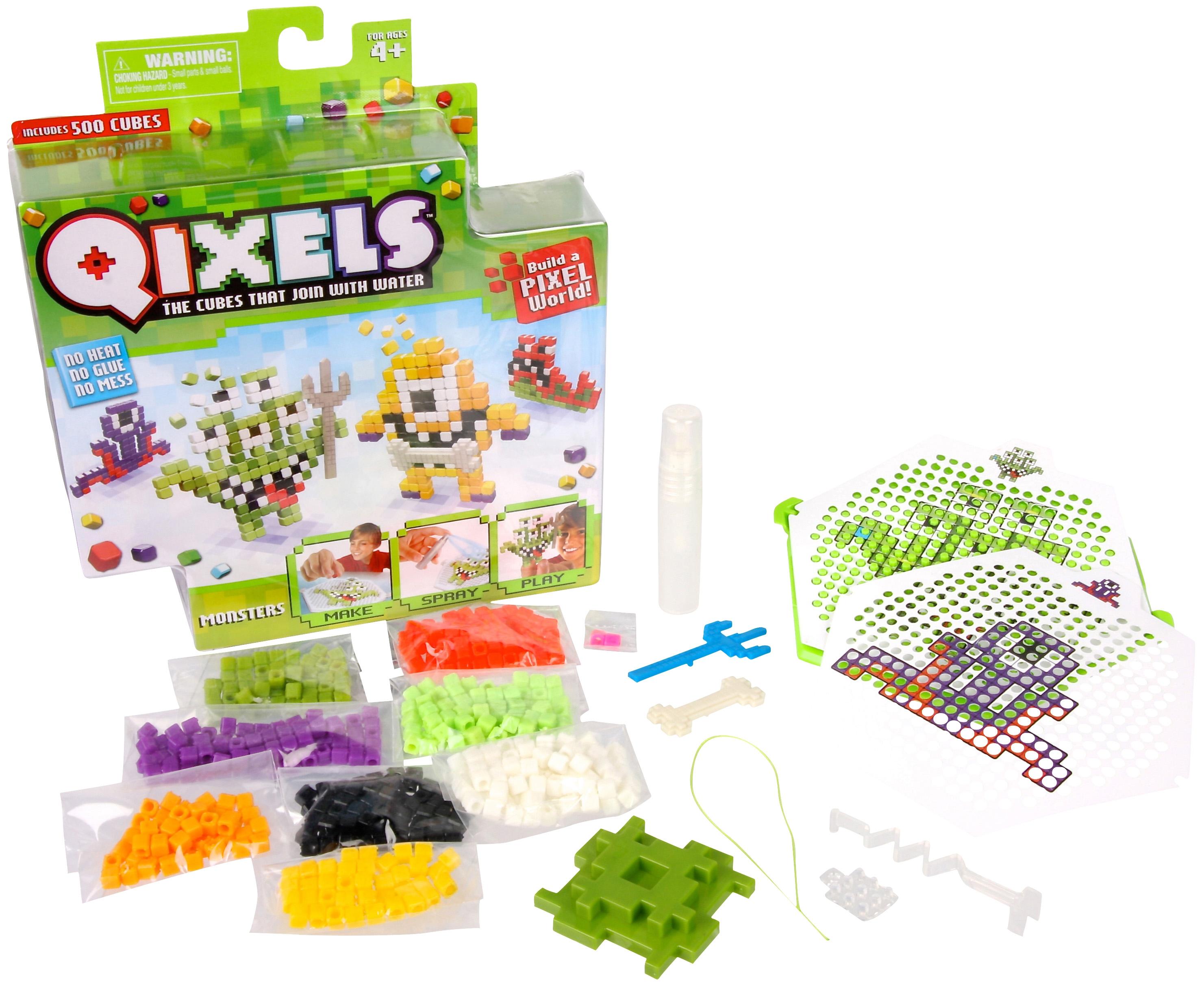 Набор для творчества Qixels Монстрики