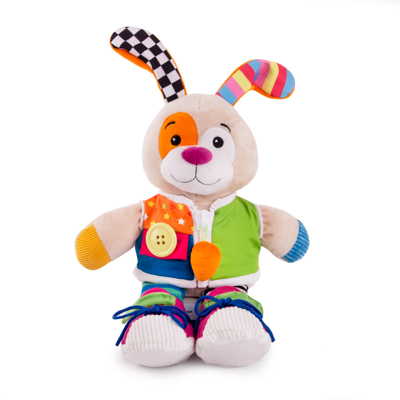 Развивающая игрушка Happy Snail Помощник Зая 17HS02HTR do 518магнит люблю зая