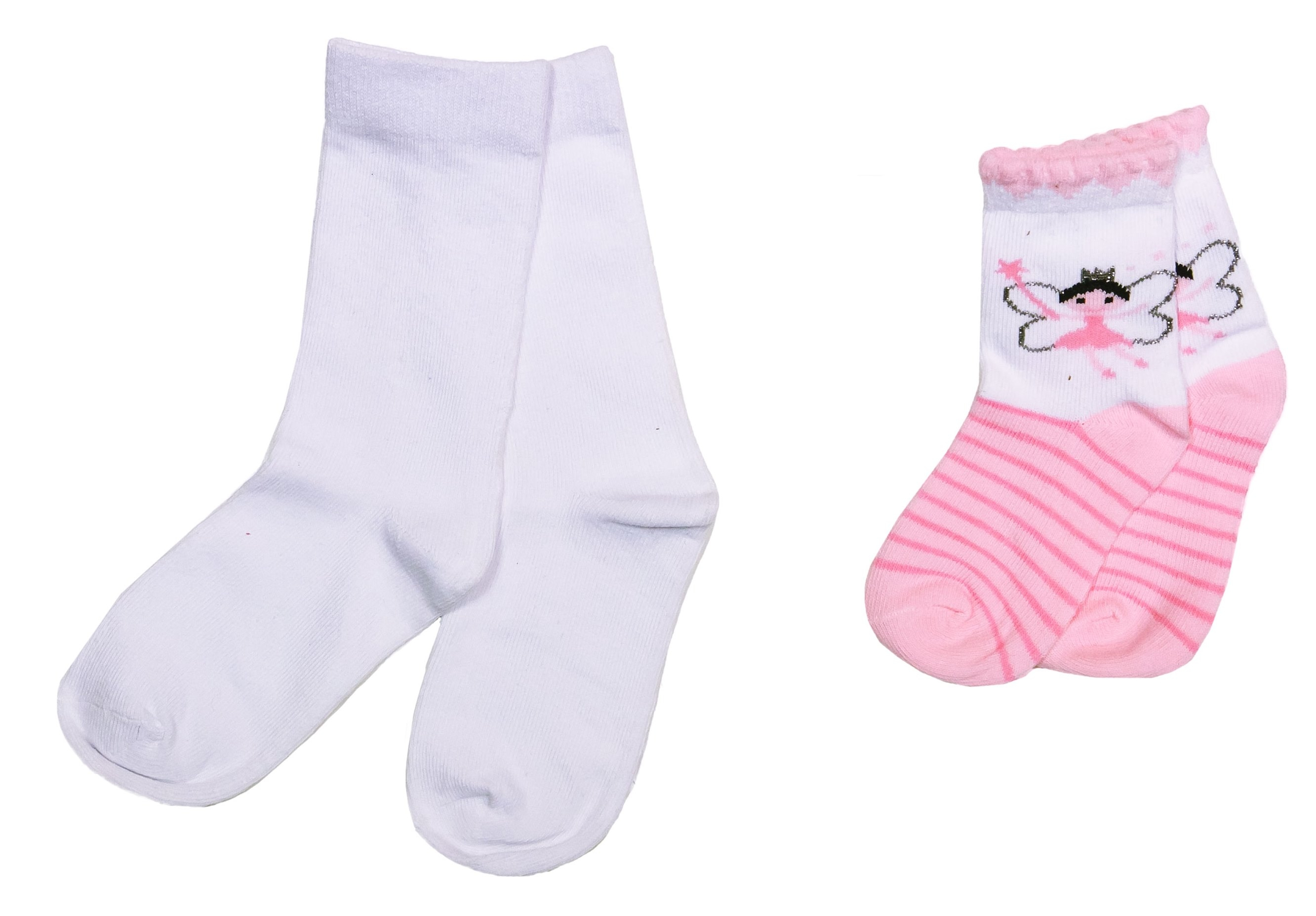 Купить Носки для девочки Barkito, розовые с рисунком, Китай, розовый с рисунком, Женский