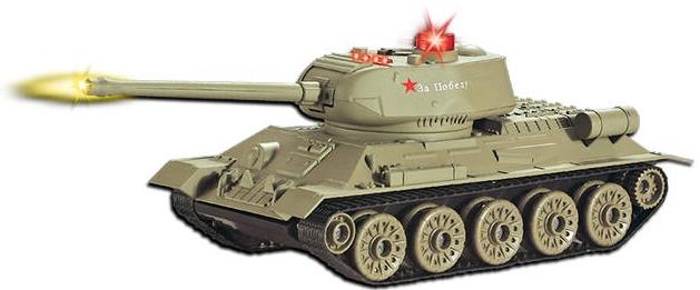 Танки ABtoys Танк на радиоуправлении ABtoys «Т-34» танк радиоуправляемый heng long german panther