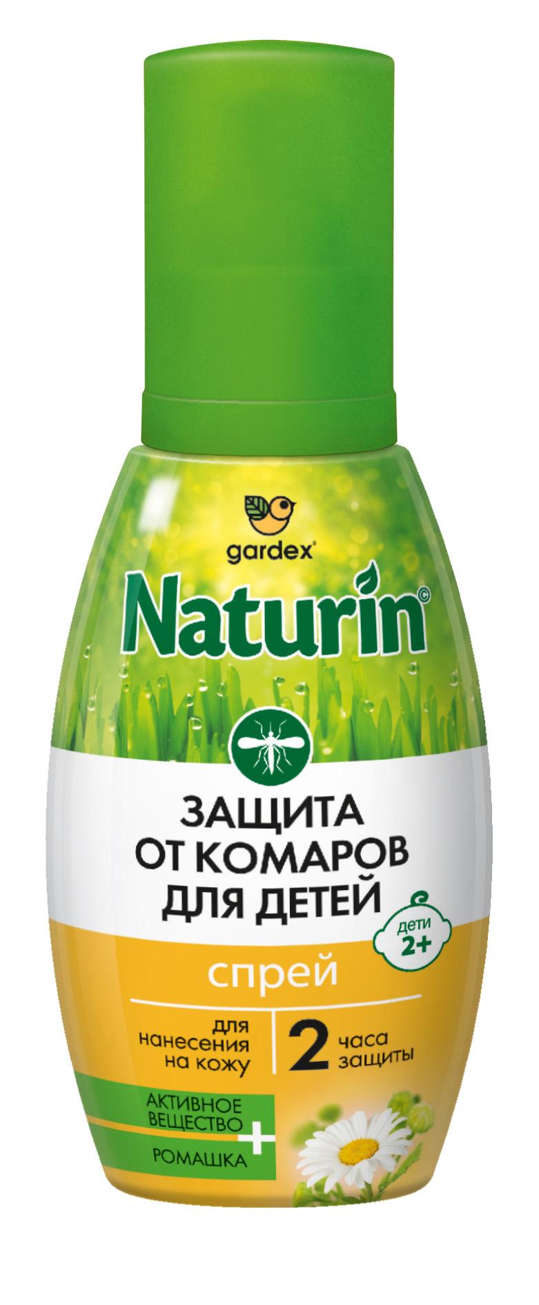 Спрей от комаров Naturin для детей